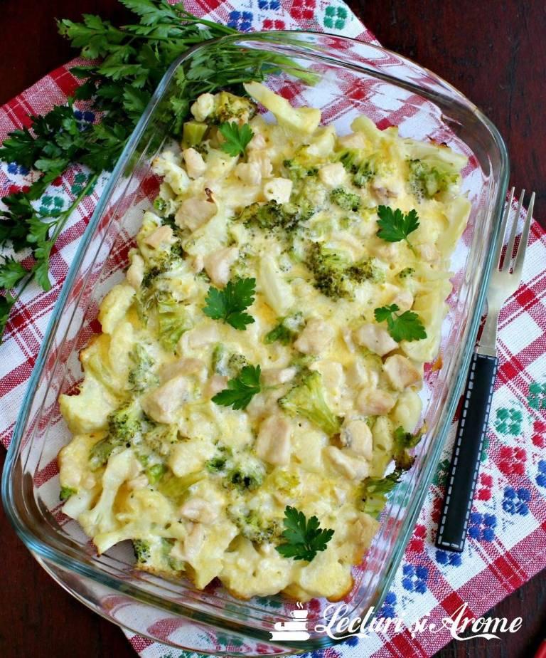 conopidă și broccoli la cuptor