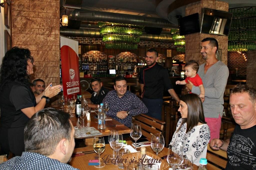 eveniment Chef pentru o zi Bacau Selgros