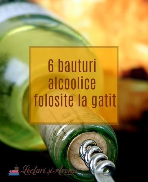 băuturi alcoolice folosite la gătit