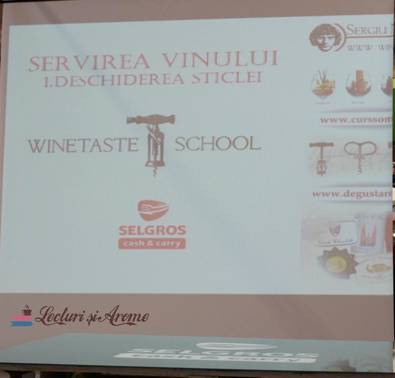 curs de vin Selgros Bacău