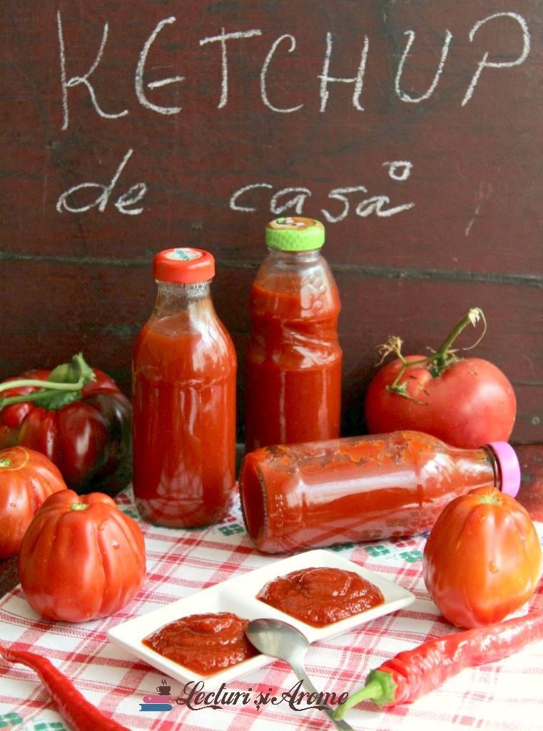 ketchup picant de casa