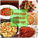 5 rețete simple și delicioase cu ardei copți