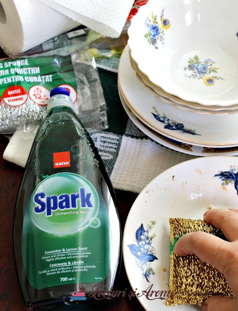 Sano Spark detergent cu aroma de castravete
