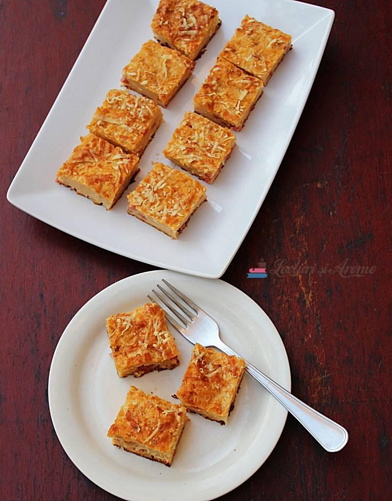 budincă sărată de pâine