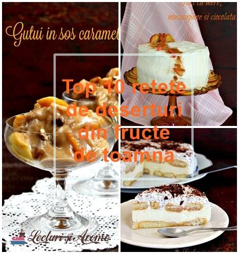 rețete de toamnă deserturi