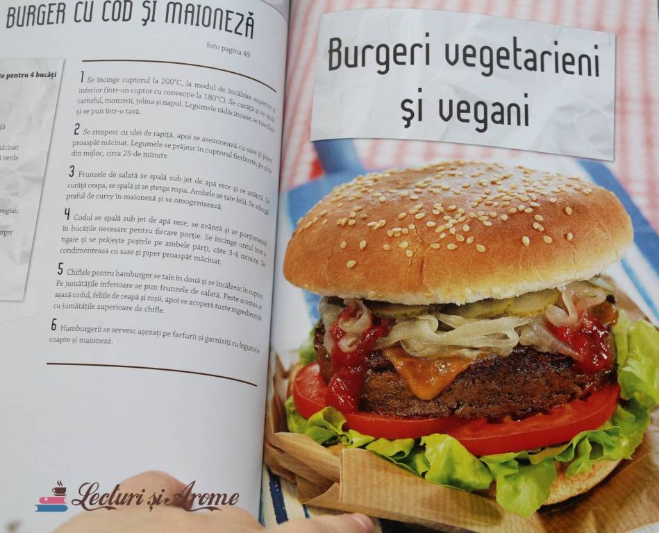 burger cu cod