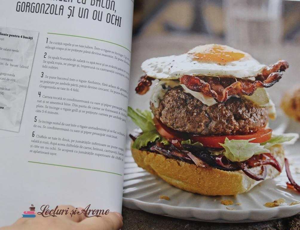 burger cu ou