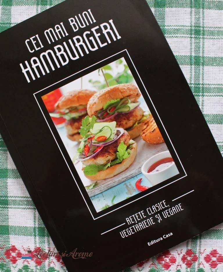 Cei mai buni hamburgeri – Rețete clasice, vegetariene și vegane (recenzie)