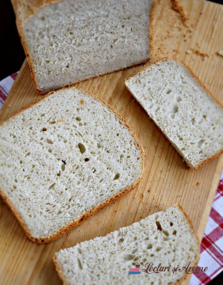 Pâine de casă cu hrișcă și tărâțe de ovaz (la mașina de făcut pâine)
