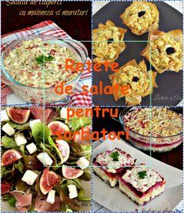 rețete de salate pentru sărbători