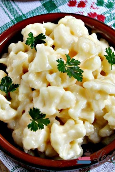 salată de conopidă cu maioneza