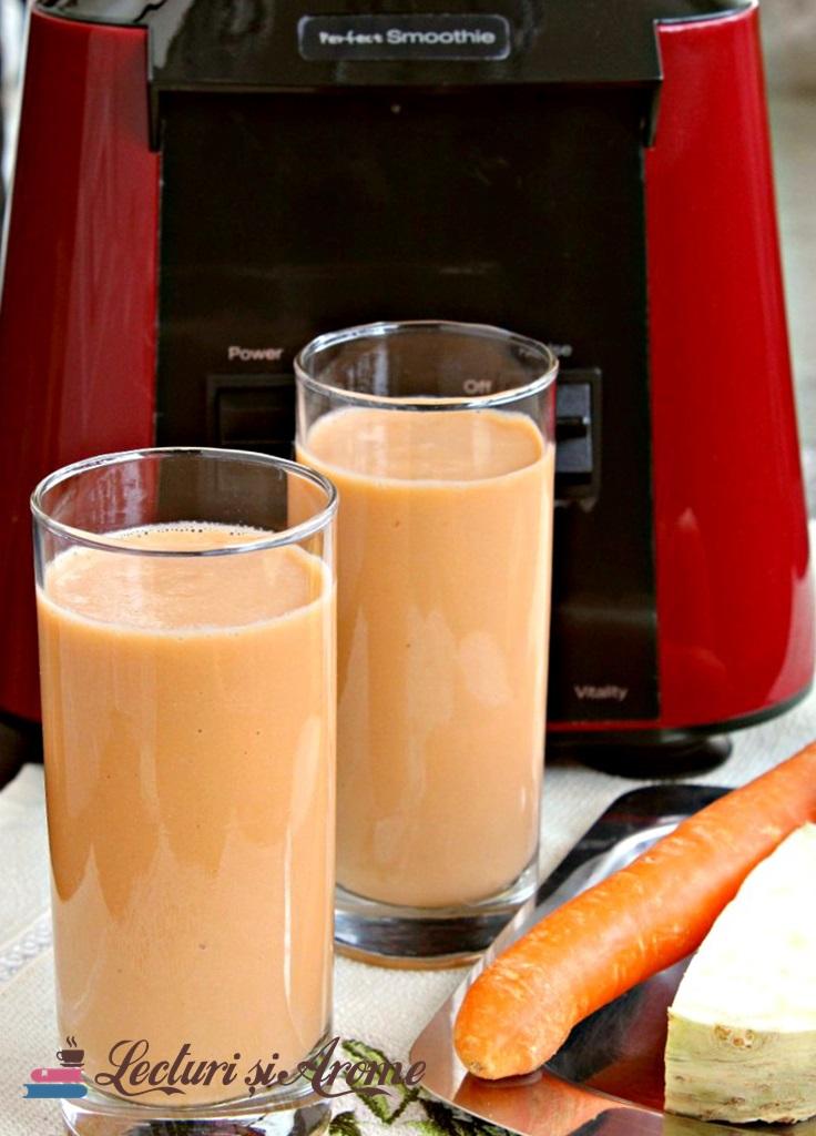 smoothie cu morcov