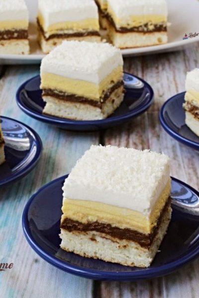prăjitură crăiasa zăpezii