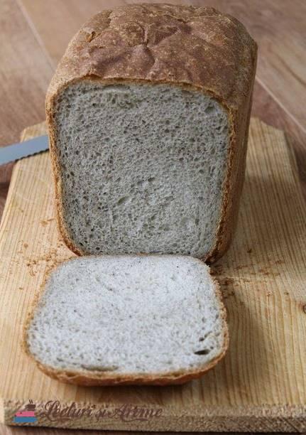 pâine de casă cu făină de quinoa