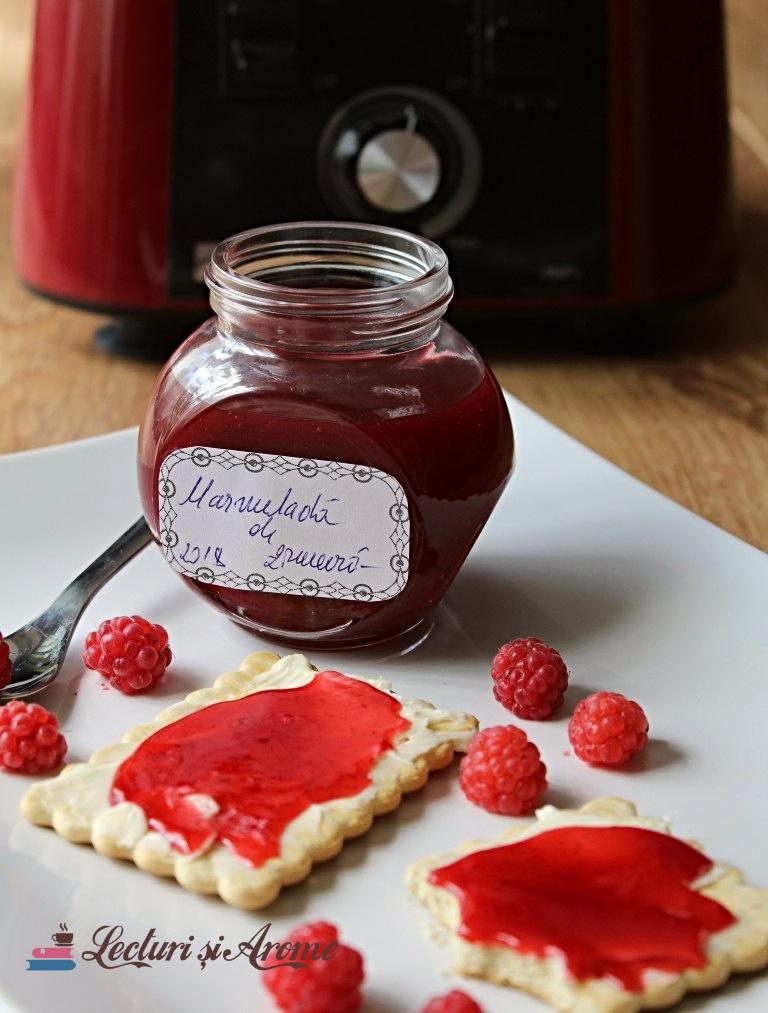 marmeladă de zmeură