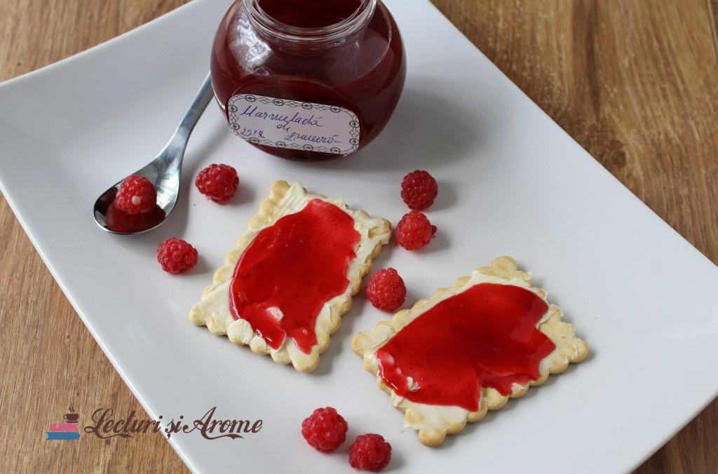 marmeladă de zmeură gem fin de zmeură