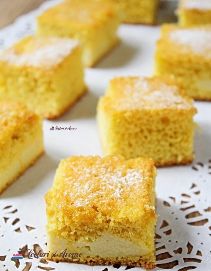 prăjitură rapidă cu brânză