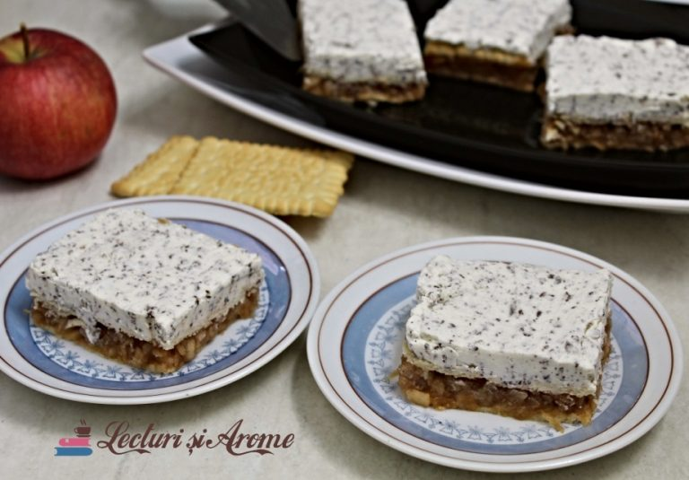 prăjitură rapidă cu mere