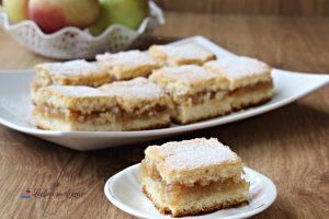 prăjitură turnată cu mere - rețetă simplă