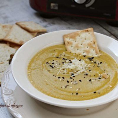 Supă cremă de legume – rețeta simplă