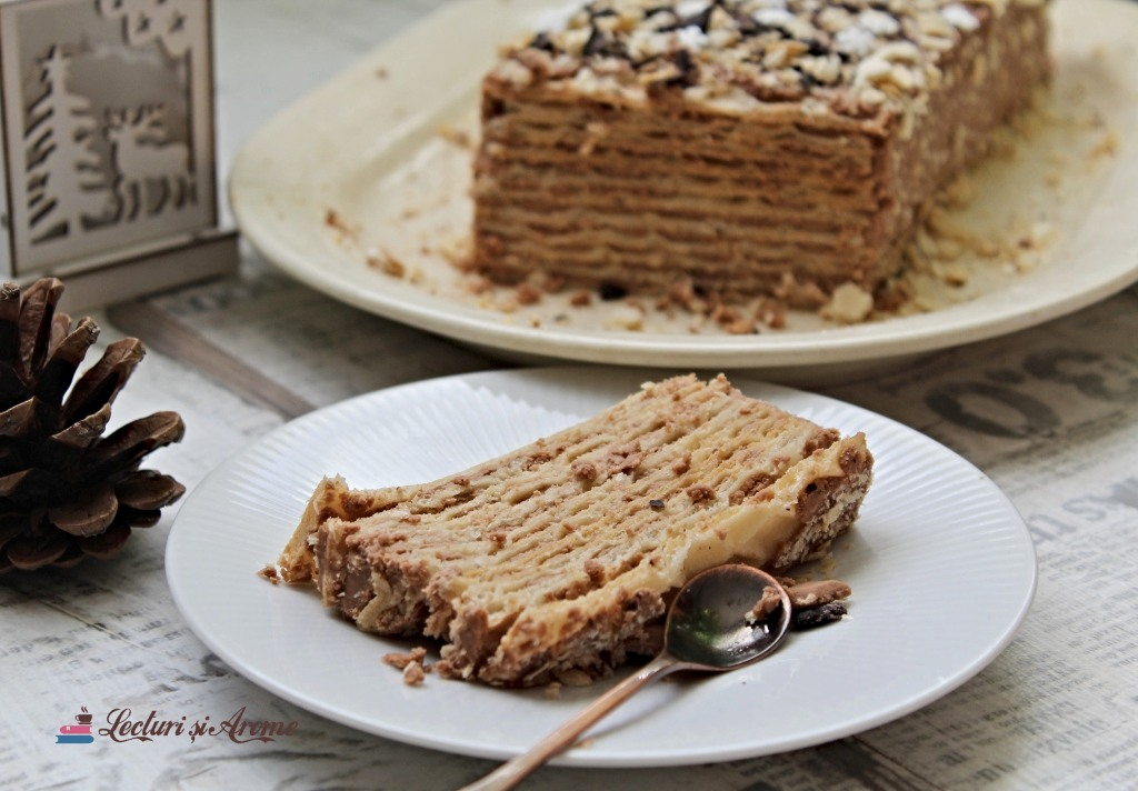 tort din foi de napolitană