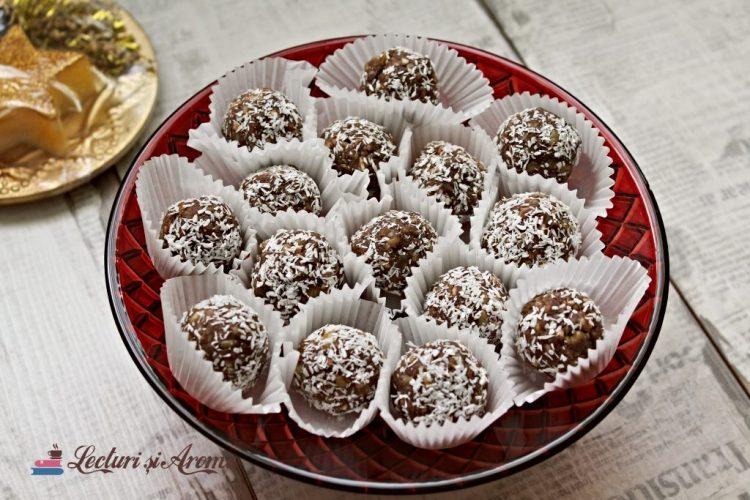biluțe din biscuiți cu vișine