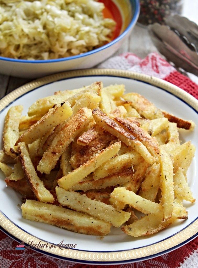 Cartofi la cuptor în crustă de pesmet