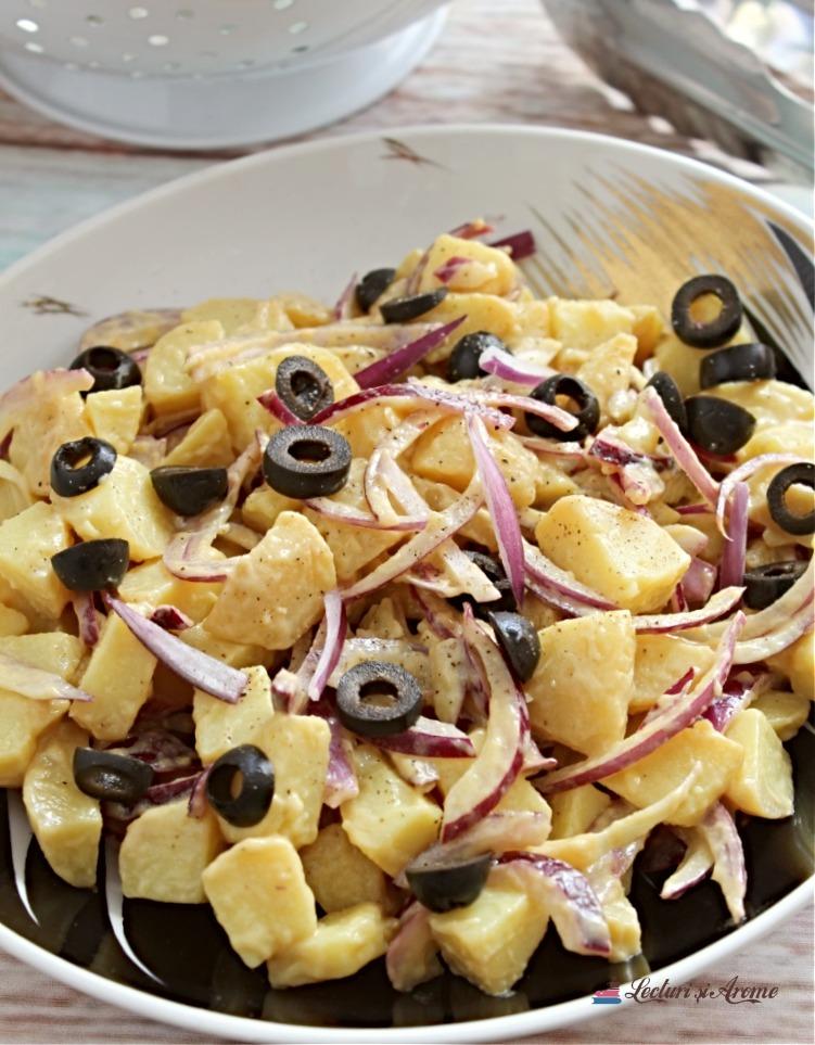 salată orientală de cartofi