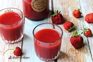 nectar de căpșuni