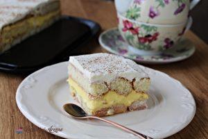 prăjitură cremșnit cu pișcoturi