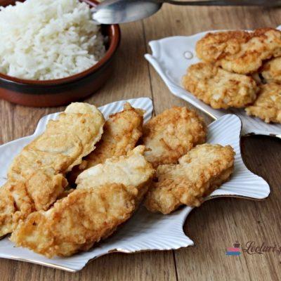 Degețele de pește (fish fingers)