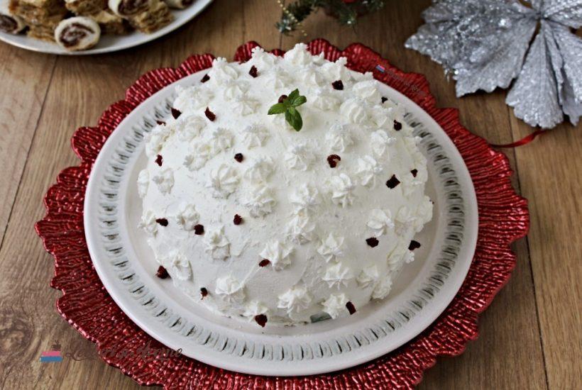 tort bulgăre de zăpadă