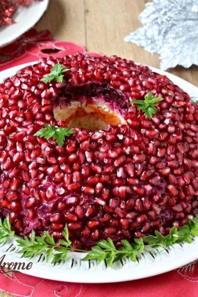 salată brățară de rodie