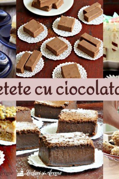 10 + rețete cu ciocolată