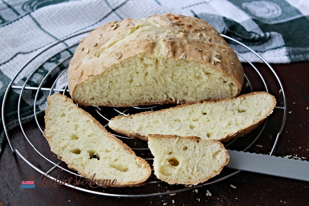 pâine irlandeză fără drojdie
