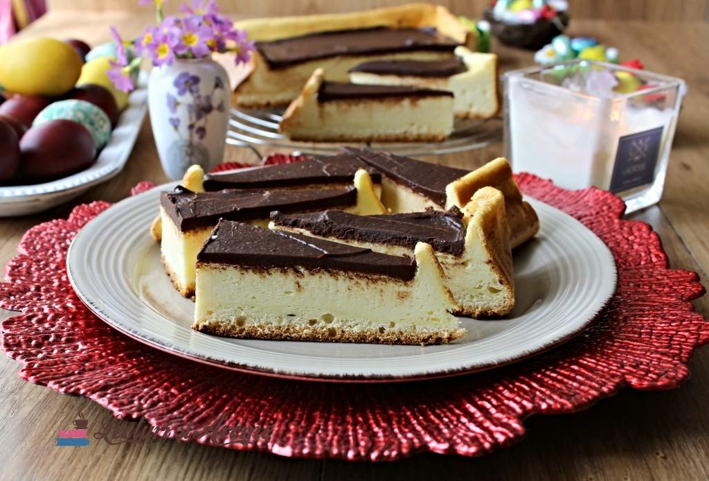 pască cu smântână și ciocolată