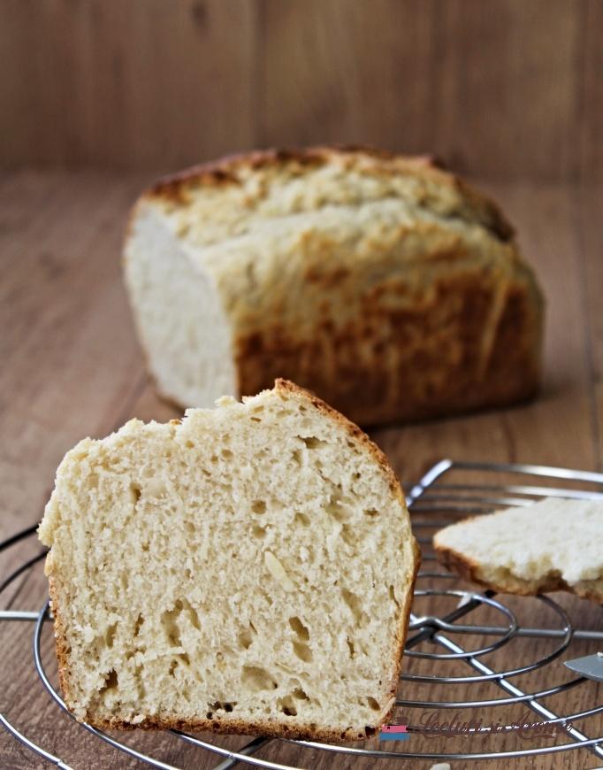 paine de casă rapidă cu praf de copt