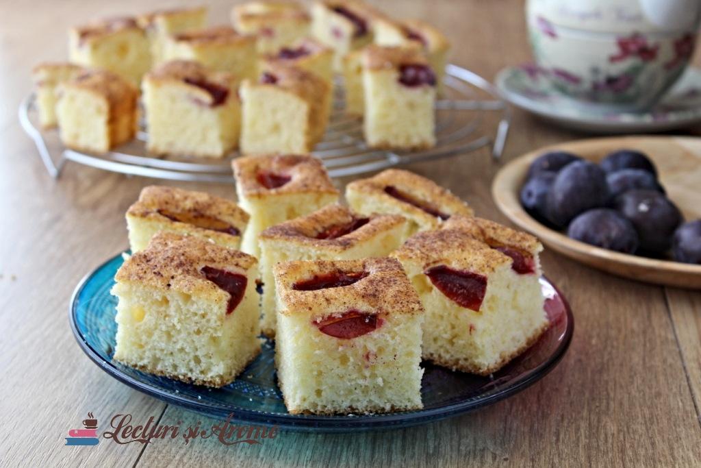 prăjitură cu cremă de brânză