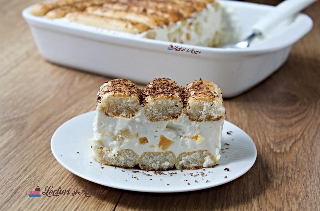 prăjitură cu cremă de iaurt