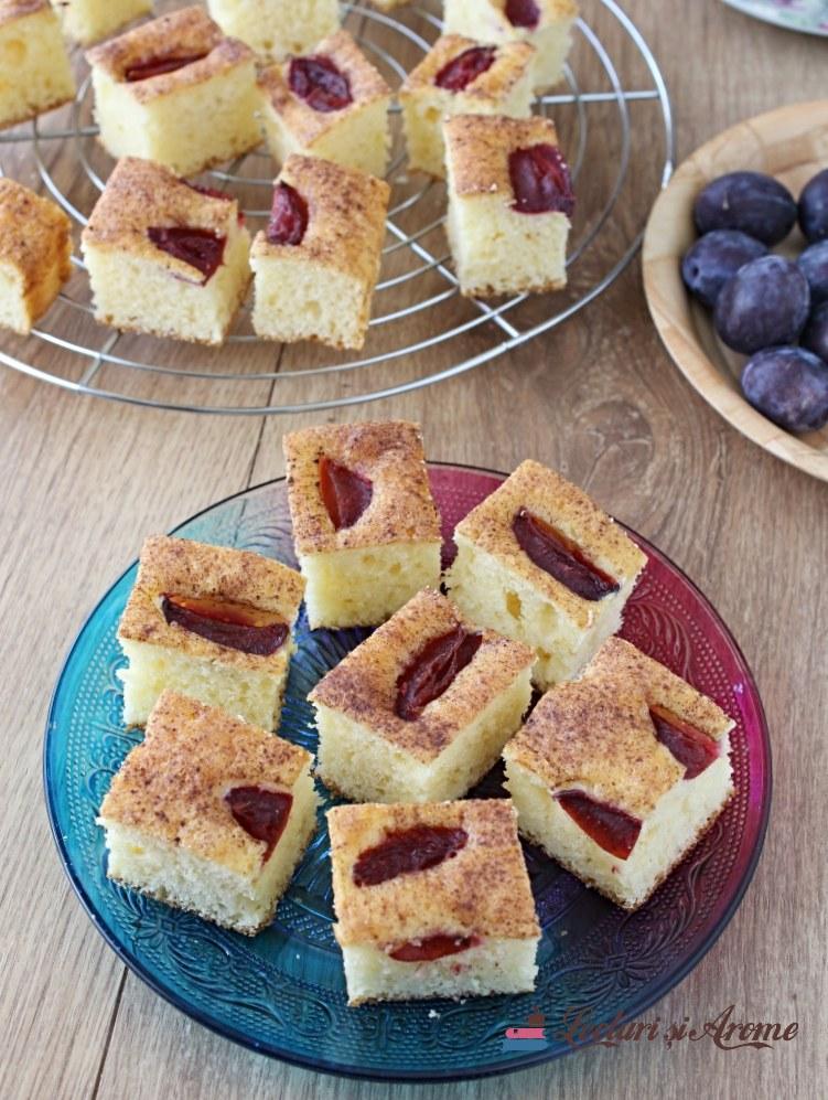 prăjitură rapidă cu cremă de brânză