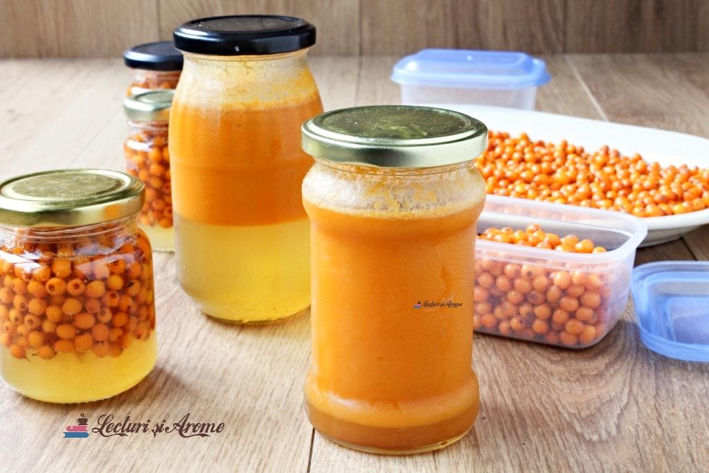 suc de cătină cu miere