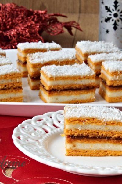 prăjitură cu foi din bulion