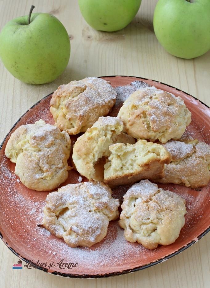 fursecuri pufoase cu mere